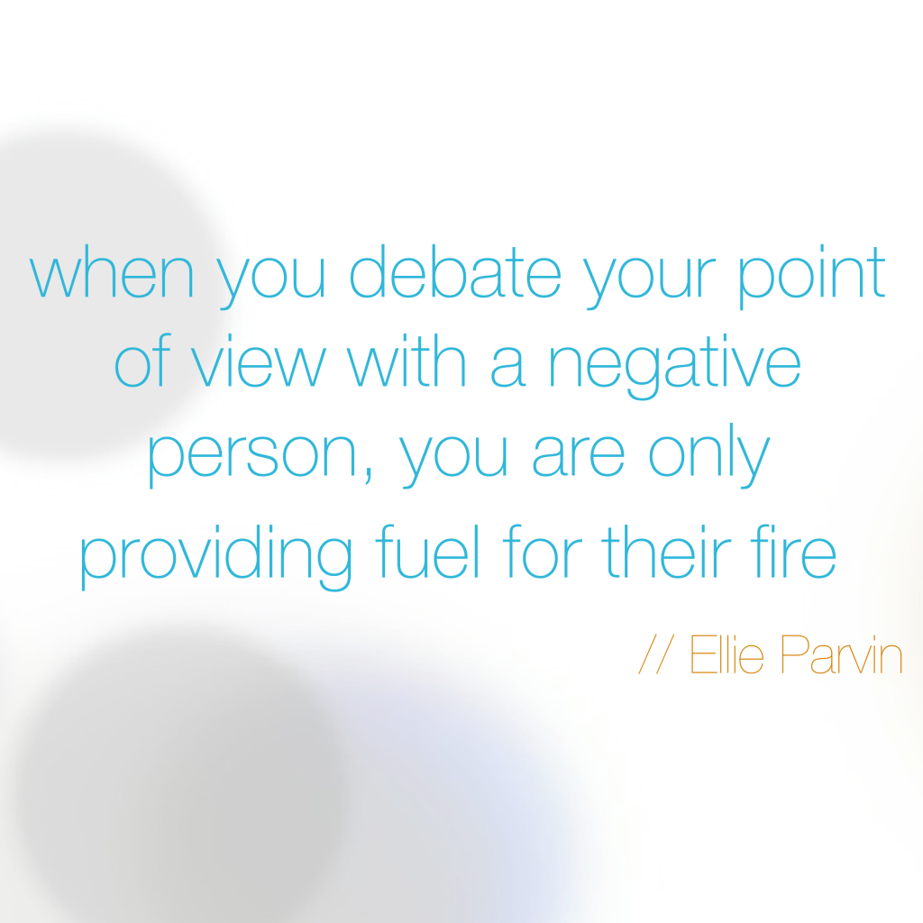 Dealing With Bad People Quotes: HOW TO DEAL WITH NEGATIVE PEOPLE